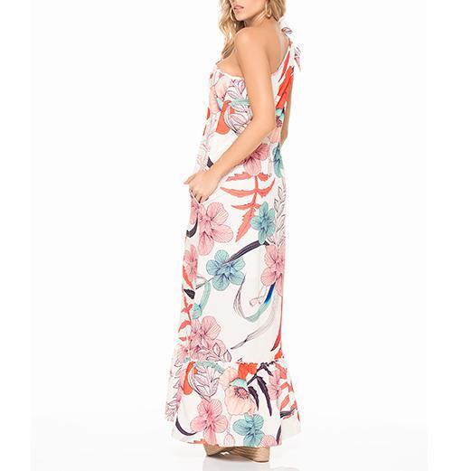 Coffee bay long dress