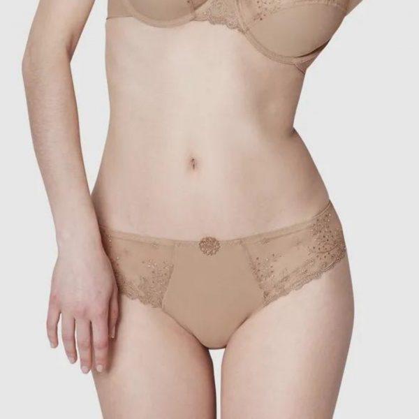 Simone Perele delice bikini brief beige