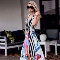 backless halter dress 11