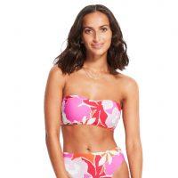 seafolly sun dancer bandeau bikini top