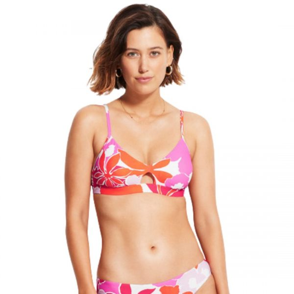 seafolly sun dancer bralette bikini top